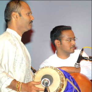 Guru Sri M Balachandar and Sishya Pirashanna